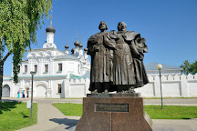 Monument to Peter and Fevronia, Murom saints, Murom, Russia