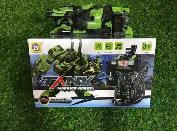 Robot Tank gerrero