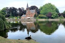 Minnewater Lake, Bruges, Belgium