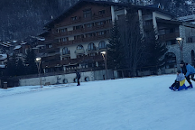 Patinoire, Val d'Isere, France