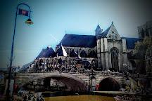 St Michael's Bridge, Ghent, Belgium