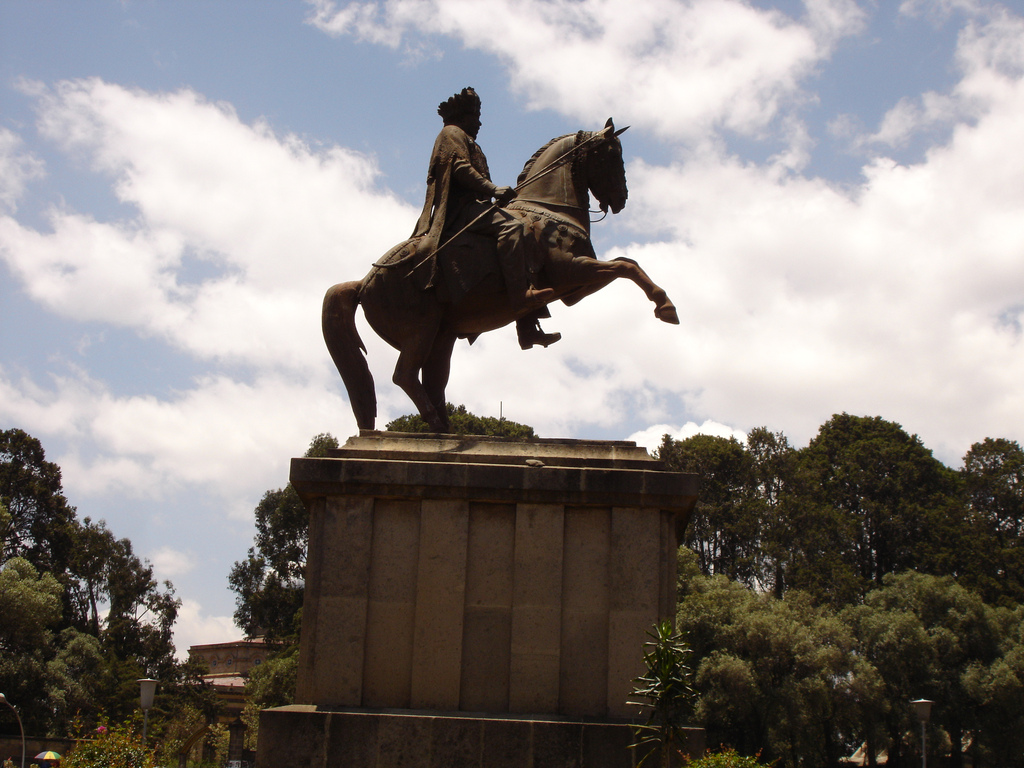 Фото Аддис-Абеба: Minilik Square| ምንሊክ አደባባይ