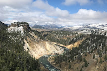 Calcite Springs Lookout, Yellowstone National Park, United States