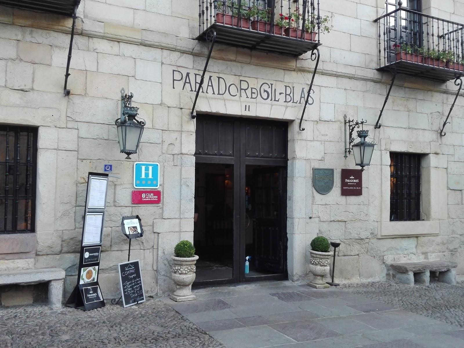 Parador de Santillana Gil Blas. Restaurante El Jardin de Gil Blas