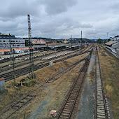 Железнодорожная станция  Praha Smichov