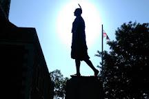Statue of Pocahontas, Gravesend, United Kingdom