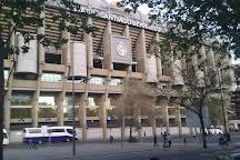 Estadio Santiago Bernabeu, Madrid, Spain