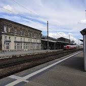 Train Station  Hof Hbf