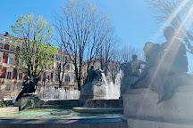 Fontana Angelica, Turin, Italy