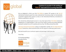 TGS KOYA CHARTERED ACCOUNTANTS dubai UAE