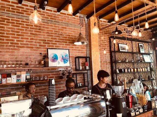 ร้าน Alexta coffee