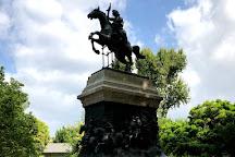 Statua e Resti Di Anita Garibaldi, Rome, Italy