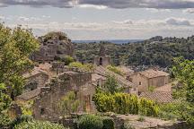 Eglise St-Vincent, Les Baux de Provence, France