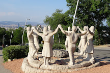 Monument a La Sardana, Barcelona, Spain
