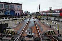 Museum of Steam Locomotives, Sibiu, Romania