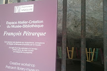 Musee-Bibliotheque Petrarque, Fontaine de Vaucluse, France