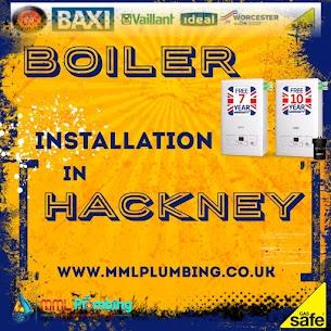 boiler installation Hackney