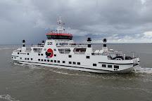 The Wadden Sea, Friesland Province, The Netherlands