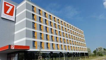 7 Days Premium Hotel Leipzig-Airport Map - Saxony-Anhalt, Germany ...