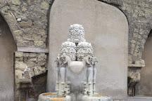 Fontana delle Tiare, Rome, Italy