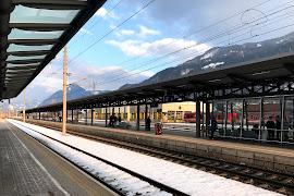 Железнодорожная станция  Jenbach