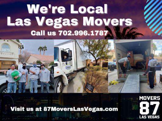 87 Movers Las Vegas Las Vegas, NV 89110 702-996-1787