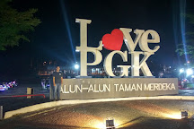 Merdeka Square Park, Pangkal Pinang, Indonesia