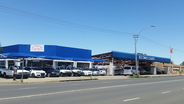 Hans Car Park 196a Or Tambo Rd Oranjesig Bloemfontein 9300 South Africa