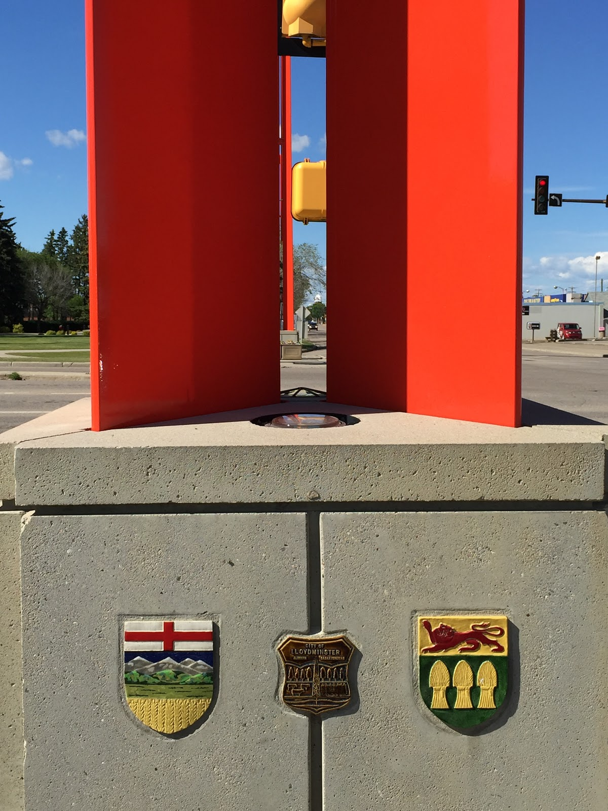 Visit Border Markers On Your Trip To Lloydminster Or Canada