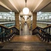 Станция метро  станции  Komsomolskaya