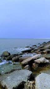 Пляж АКЗ 3 дамба