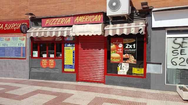 American Pizza Burger