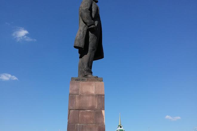 Lenin Square, Tula, Russia