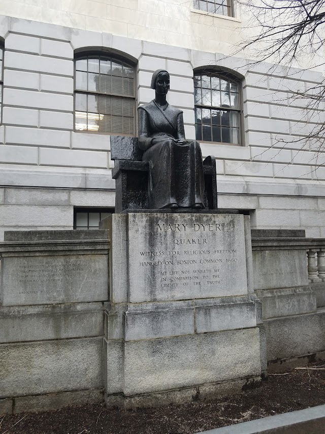Mary Dyer Sculpture