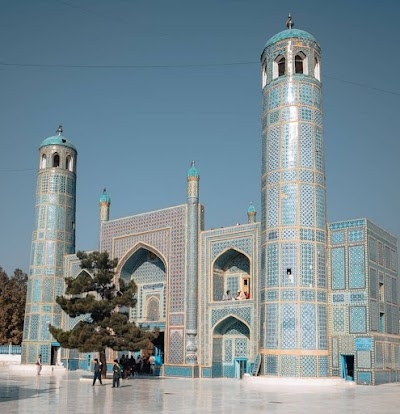 Mosque of Rawza e Sharif مسجد روضه شریف