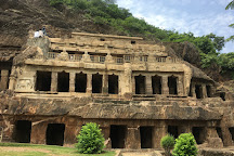 Undavalli Caves, Vijayawada, India