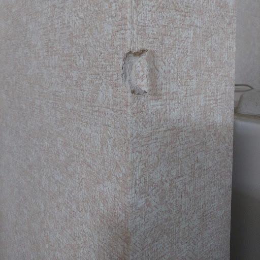 マンションの柱穴補修に行ってきました