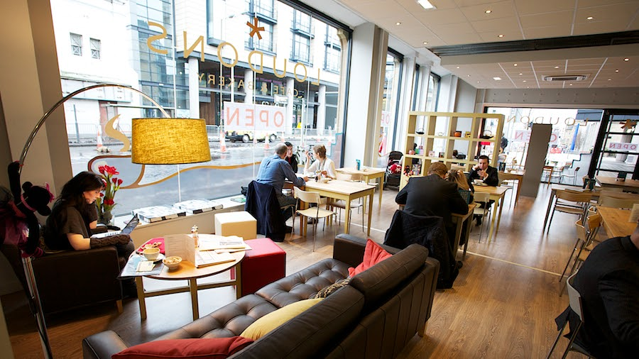 Loudons Cafe and Bakery: A Work-Friendly Place in Edinburgh