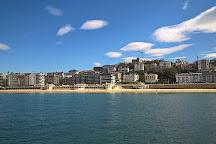 Santa Clara Island, San Sebastian - Donostia, Spain
