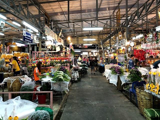 New Bangkok Flower Market