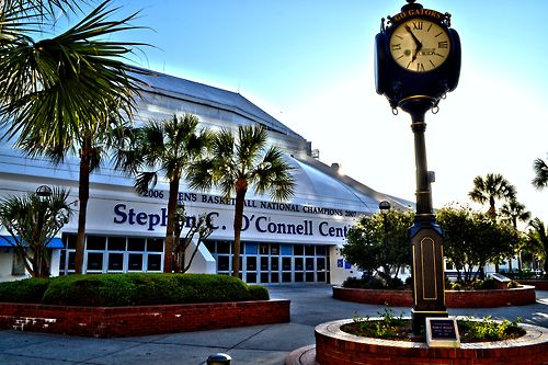 Exactech Arena at the Stephen C. O_Connell Center Gainesville Florida
