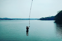 Jorge's Rope Swing, Flores, Guatemala
