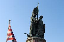 Jan Breydel and Pieter de Coninck Monument, Bruges, Belgium
