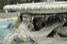Fontana dei Cavalli Marini, Rome, Italy
