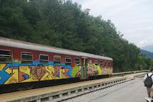 Lake Bled Train Station, Bled, Slovenia