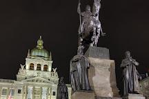 Vaclavske namEsti, Prague, Czech Republic