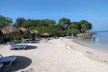 Playa Puntilla, Isla Baru, Colombia