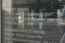 Albert L Lorenzo Cultural Center, Clinton Township, United States