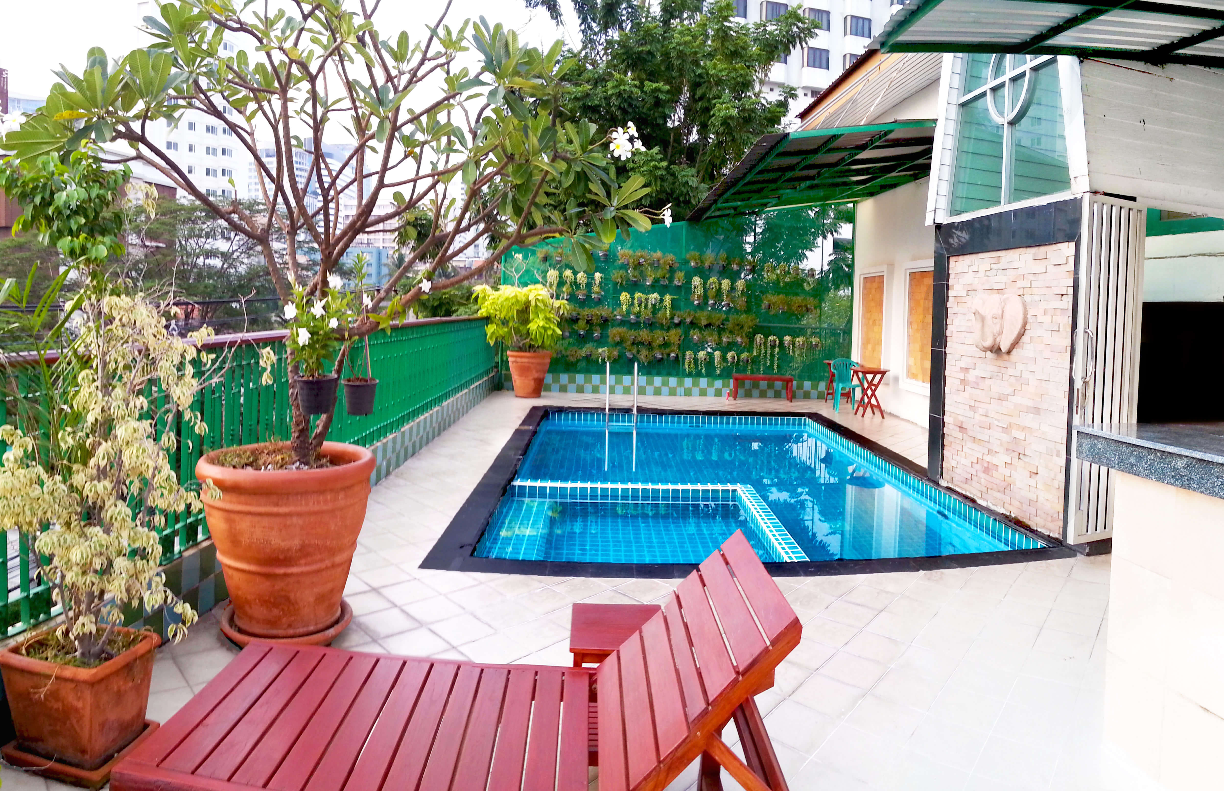 nana hotel bangkok's 3rd floor swimming pool