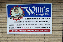 Willi's Sausage, Frankenmuth, United States